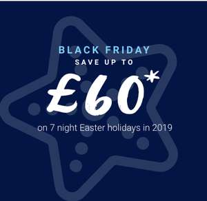 Save up to £70 on an Easter family at any of the 38 Haven holiday parks