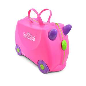 Trunki Children's Ride-On Suitcase: Trixie (Pink) and Terrance  (Blue) were £34.62 now £22.50 @ Amazon