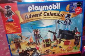 Playmobil advent calender 84 pc - £10. Half price and discounted advent calender @ waterstones