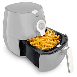 BLACK FRIDAY DEAL Philips Daily Collection Airfryer , 0.8kg, HD9218/11 - Grey White £64.99 @ Costco