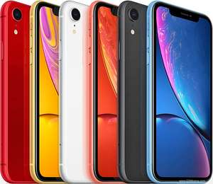 Iphone XR (Vodafone) £37 a month (£59.99 up front) 80GB, unlimited calls/texts, 24 months Spotify, Global Roaming Plus - £947.99 @ CPW