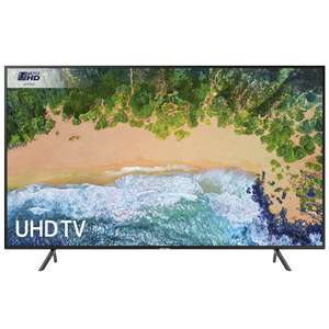 "Samsung UE40NU7120 40"" 4K Ultra HD Certified HDR Smart TV + Free HDMI Cable £299 @ RGB Direct"
