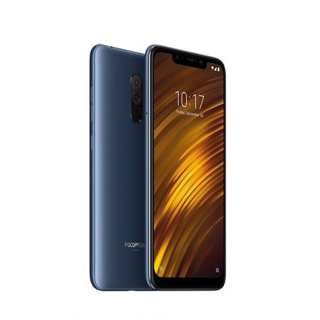 Xiaomi Pocophone F1 6GB/128GB Dual Sim SIM FREE/ UNLOCKED £264 - Blue @eglobal central uk