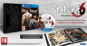 Yakuza 6: The Song of Life - Essence of Art Edition £25.50 delivered @ Coolshop