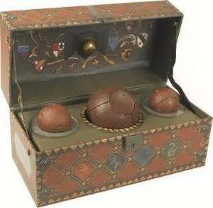 Harry Potter: Collectible Quidditch Set @ Book Depository was £20, now £12.01. Free delivery