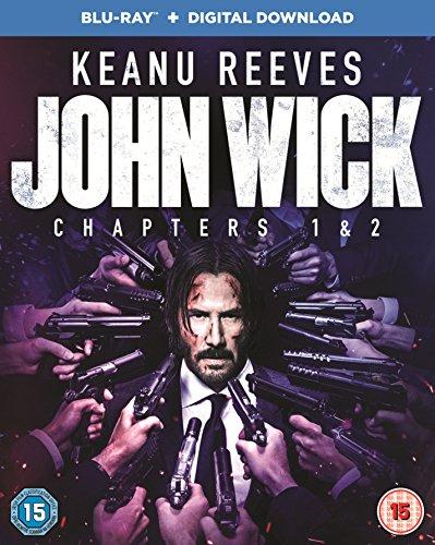 John Wick: Chapters 1 & 2 Blu-ray £8.99 (Prime) / £11.98 (Non-Prime) @ Amazon.co.uk