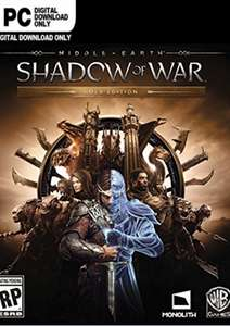 Middle-earth Shadow of War Gold Edition PC Steam Key £9.99/£9.69 with FB code @ CD KEYS