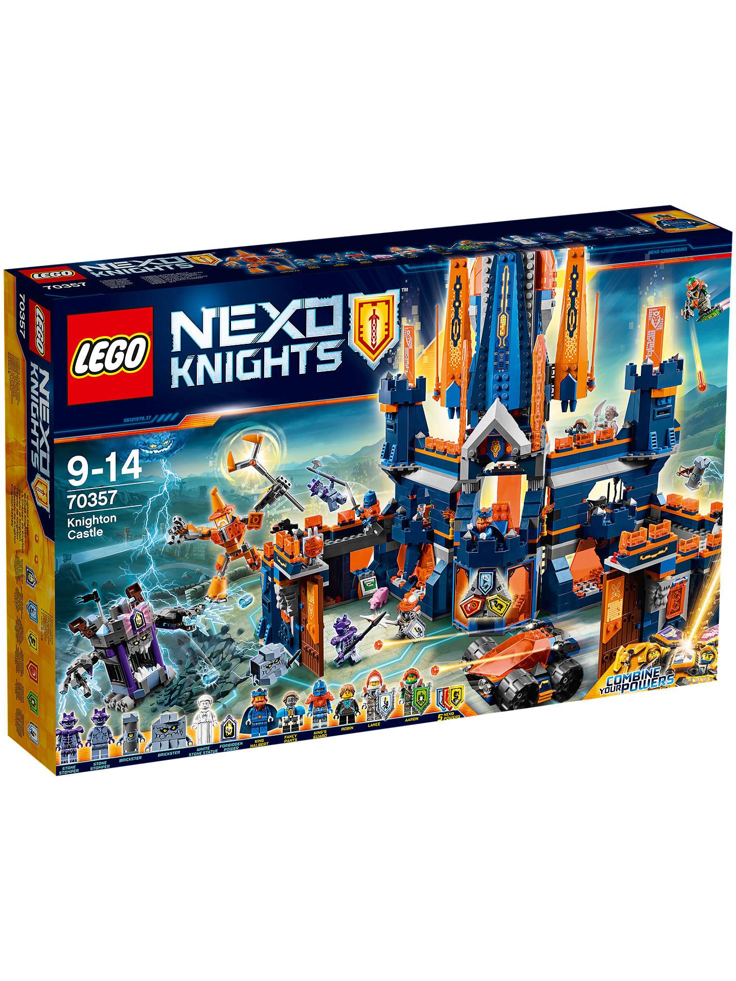 Lego Nexo Knights 70357 Knighton Castle £54.99 @ John Lewis & Partners