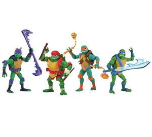 Rise of The Teenage Mutant Ninja Turtles 4 Brothers Pack £23.99 Argos