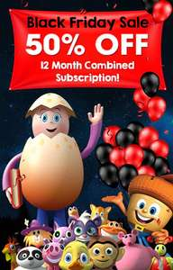 Reading eggs 12 month combined subscription - £35