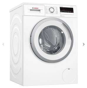 Bosch WAN28201GB  Washing Machine, 8kg Load, A+++ Energy Rating, 1400rpm Spin with2 year guarantee included £329 @ John lewis & partners
