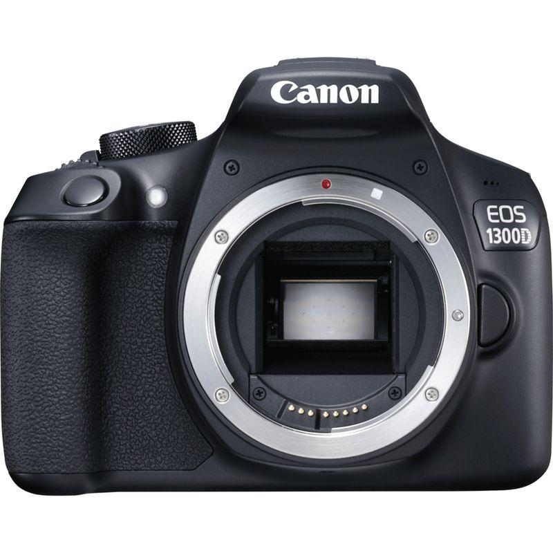 Canon DSLR camera EOS 1300D + 18-55mm III Lens £294.99 @ Canon