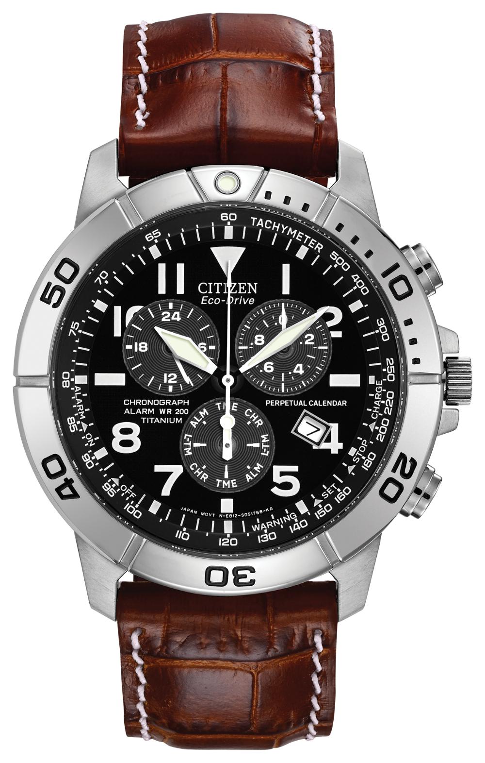 Citizen Eco-Drive men's chronograph titanium watch, £191.20 at Fraser Hart