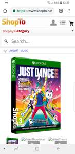 Just dance 2018 xbox one £19.85 @ shopto