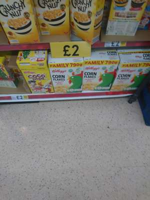 Kelloggs Corn Flakes Cereal 790G  For £2 @ Tesco Instore