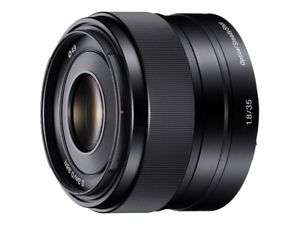 Sony SEL35F18 E mount APS-C 35mm f1.8 Prime Lens - £279 @ Amazon