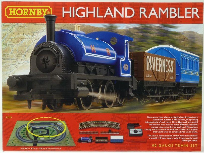 Hornby Highland Rambler Train Set Amazon was £79.99 now £47.18