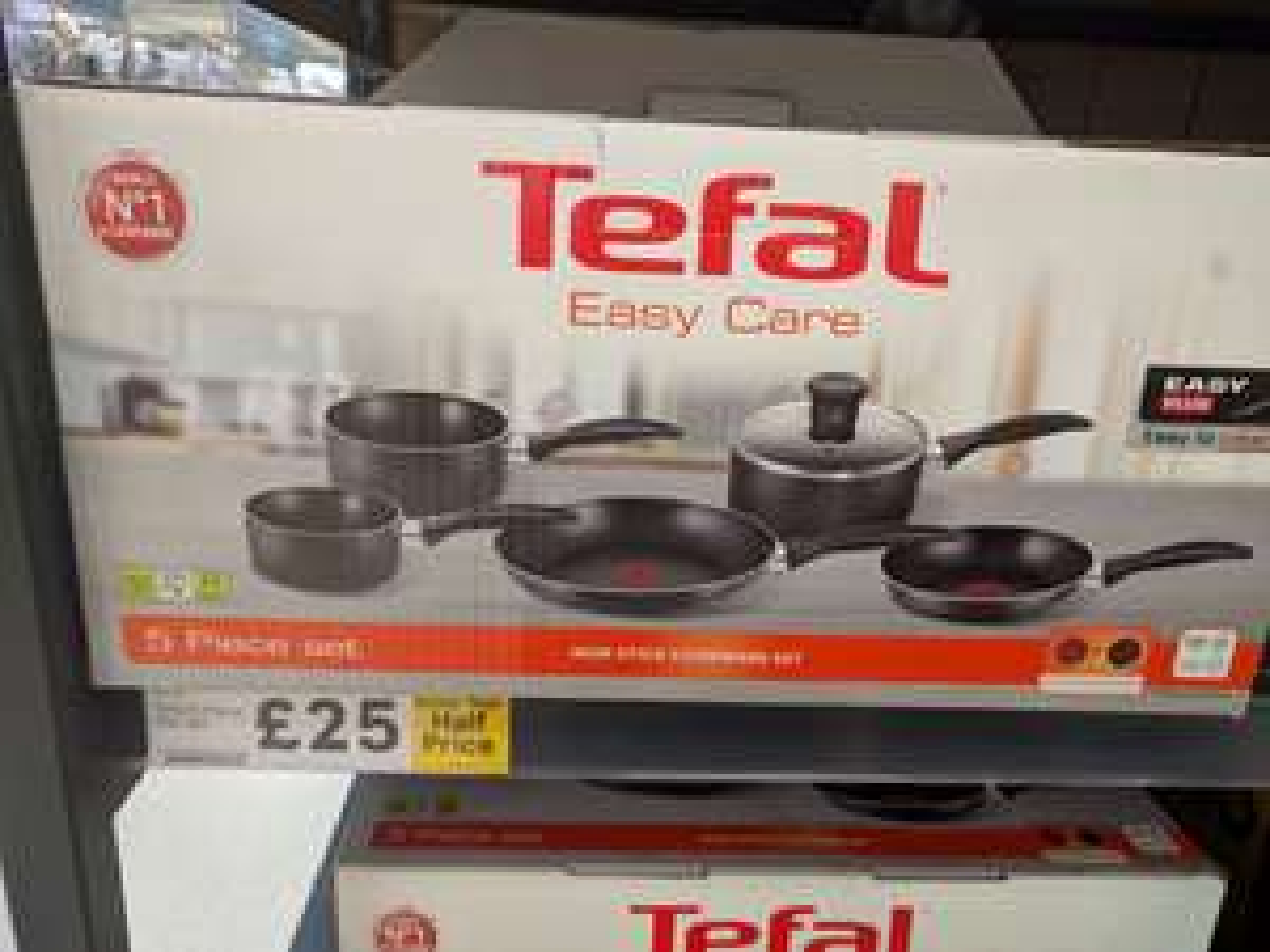 Tefal Delight 5 Piece Non-Stick Saucepan Set £25 @ Tesco - Stretford, Manchester