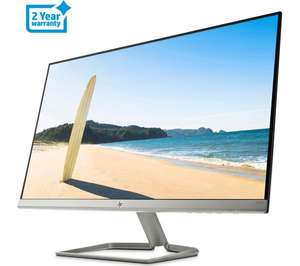 "HP 27fw Full HD 27"" IPS LCD Monitor - White, £129 at Currys"