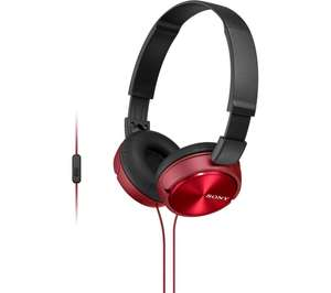 Sony MDR-ZX310APR earphones £12.99 with free delivery and 3 months free Deezer premium @ Currys