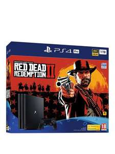PS4 Pro 1TB (New version) & Red Dead Redemption - £299.99 for new account holders using code / £329.99 C&C @ Very