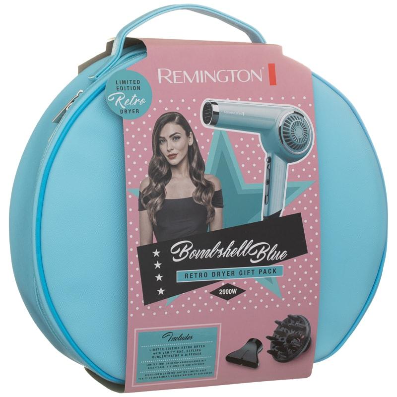 Remington Bombshell Blue Retro Hair Dryer Set £19.99 @B&M