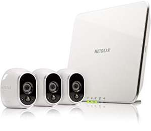 Netgear Arlo VMS3330 - 3 HD Security Camera Kit, Wire Free, Indoor/outdoor, Night Vision @Amazon Warehouse Deal (from £185.24 Used VGC)