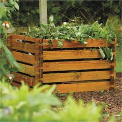 Rowlinson Wooden Compost Bin - 439 Litres.... 25 percent off - £36.99 @ Green Fingers