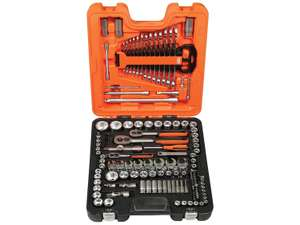 Bahco S138 Metric and Imperial Square Drive Socket Set