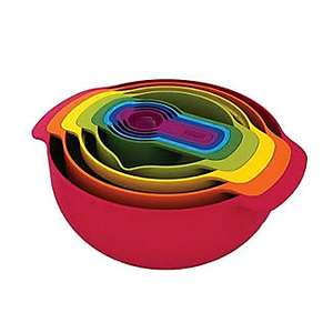 Joseph Joseph Nest 9 Plus Mixing Bowl and Measuring Set £25 from Lakeland