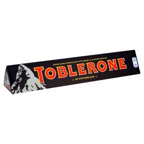 Dark Toblerone, 2 360g bars for £7 in Waitrose