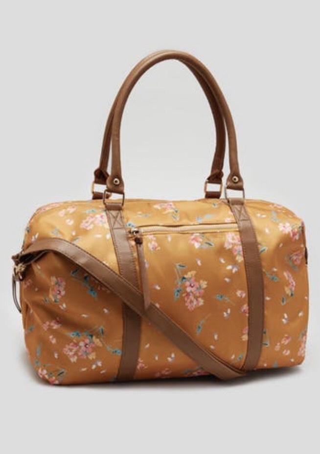 Floral weekend bag £6 @ matalan Free c+c