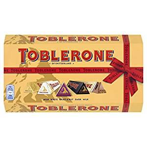 Amazon add on. 5x 100g bars of Toblerone £5