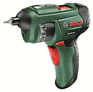 Bosch PSR Select Cordless Screwdriver with Integrated 3.6 V Lithium-Ion Battery £29.99 @ Amazon