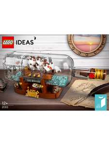 Lego 21313 Ship in Bottle £54.99 free standard delivery/c+c & John Lewis & Partners