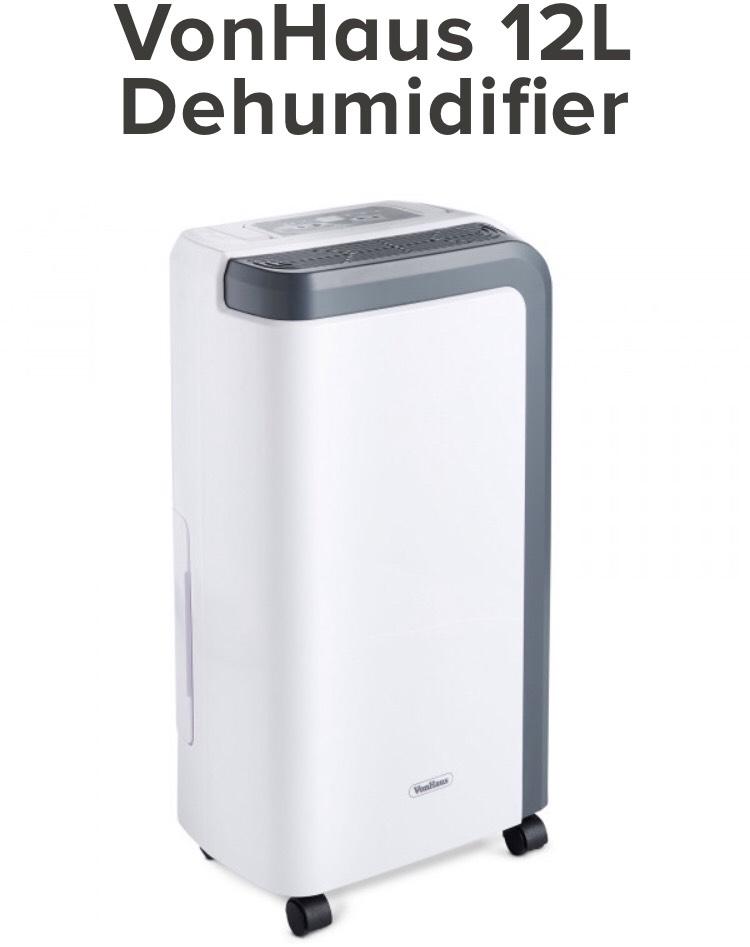 VonHaus 12L Dehumidifier at Domu for £67.19