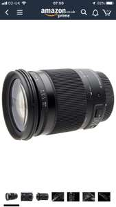 Sigma 18-300mm Canon fit, £229.21 Amazon Warehouse (Used - Very Good)