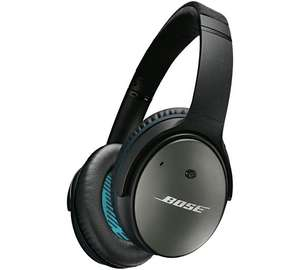 Bose QuietComfort 25 Noise Cancelling headphones £129.95 (or less, see OP) @ Argos
