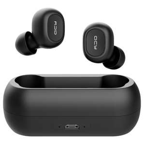 QCY T1C TWS Dual Bluetooth 5.0 Earphones with Mic Charging Box Noise Reduction - Black £15.85 @ geekbuying