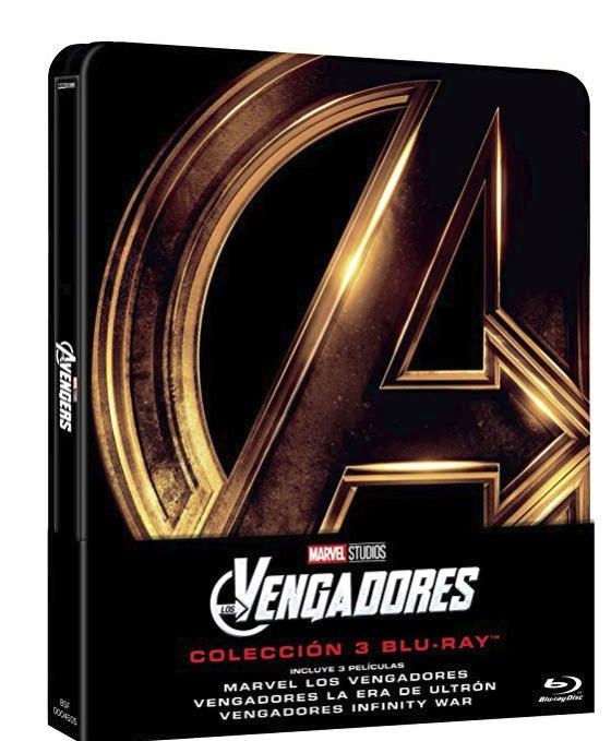 Amazon Spain prime under £20 Steelbooks e.g Avengers Trilogy - £18.97 prime exclusive see op
