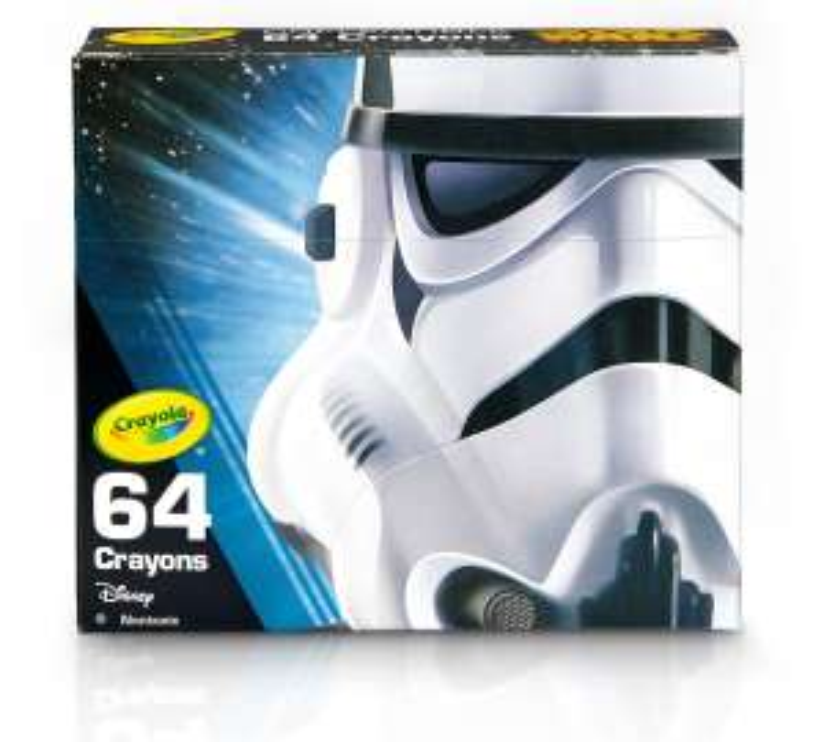 Crayola Stormtrooper Star Wars 64 Crayon Set £1.74 C+C with code @ Ryman