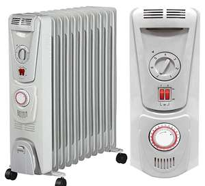 Futura Oil Filled Radiator 11 Fin 2.5KW 24 Hour Timer & Thermostat- £49.99 sold by Futura Direct Ltd @ Amazon