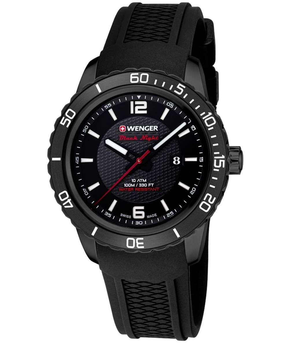Wenger Roadster Black Night Quartz Watch - £65.67 - Amazon US