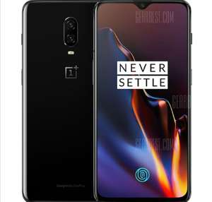 8GB/128GB - OnePlus 6T 4G Phablet 6.41 inch International Version - MIRROR BLACK (£413 With A. Fee Free) @ Gearbest