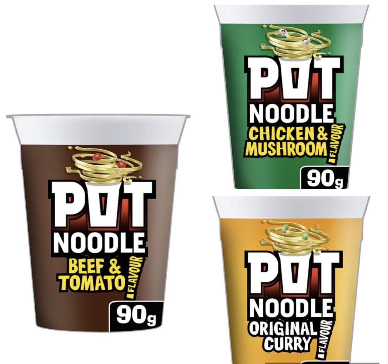 Pot noodle 50p @ Lidl
