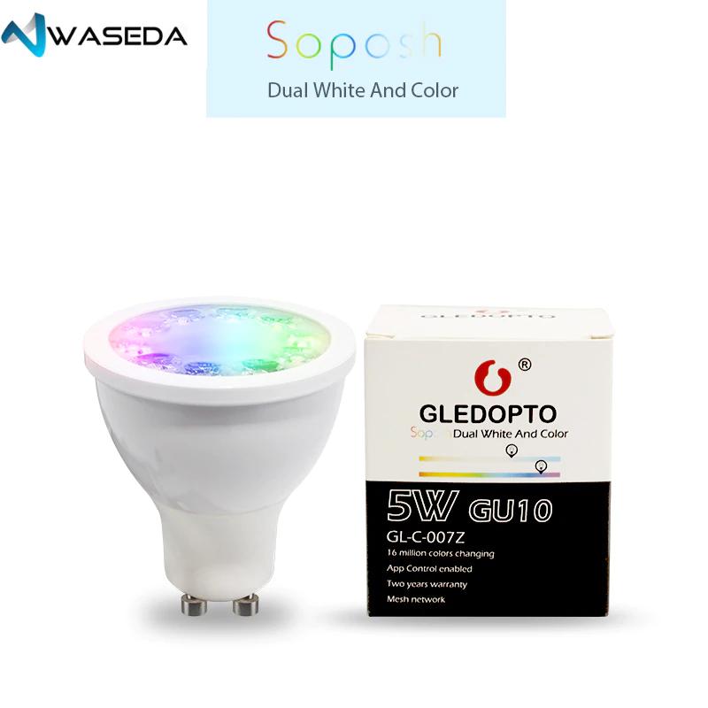 GLEDOPTO GU10 bulbs, Works with Philips Hue Hub 2.0 £8.10 @ Ali express