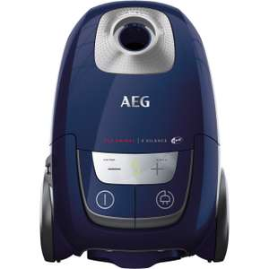 AEG VX8-2-BM-P Bagged Cylinder Vacuum Cleaner - A Rated £129 @ AO