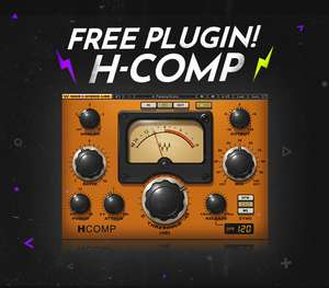 Free Waves H-Comp Compressor Plugin VST @ Waves