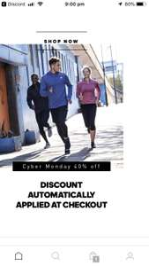Adidas Cyber Monday - 40% off everything only in the app