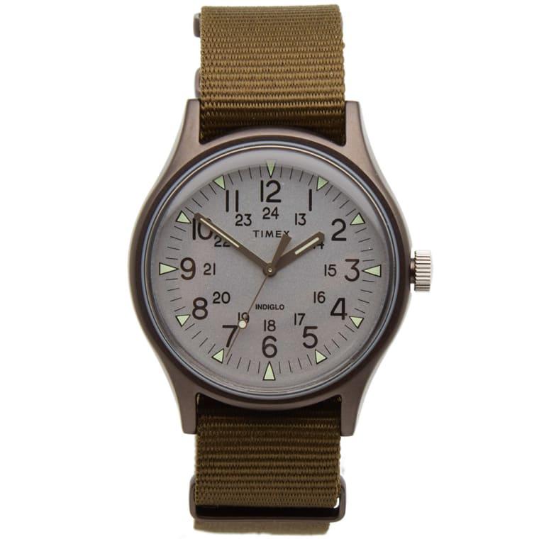 TIMEX MK1 ALUMINIUM WATCH £38.95 @ END